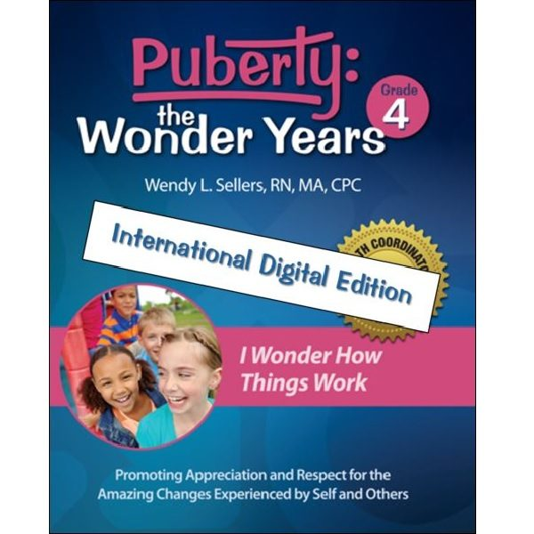 Puberty: The Wonder Years, international version, grade 4