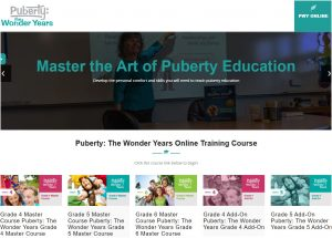 Puberty: The Wonder Years Online Training Course