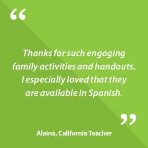 Alaina, California Teacher Quote