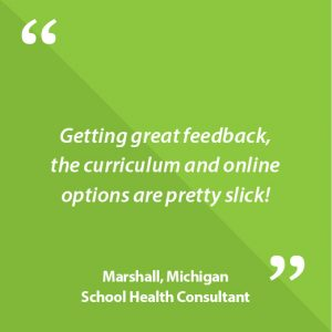 Marshall, Michigan School Health Consultant Quote