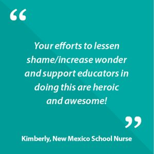 Kimberly, New Mexico School Nurse Quote