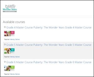 Online Training Course for Puberty Education